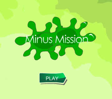Picture of a ScreenShot of & Link to the Online game - Minus Mission